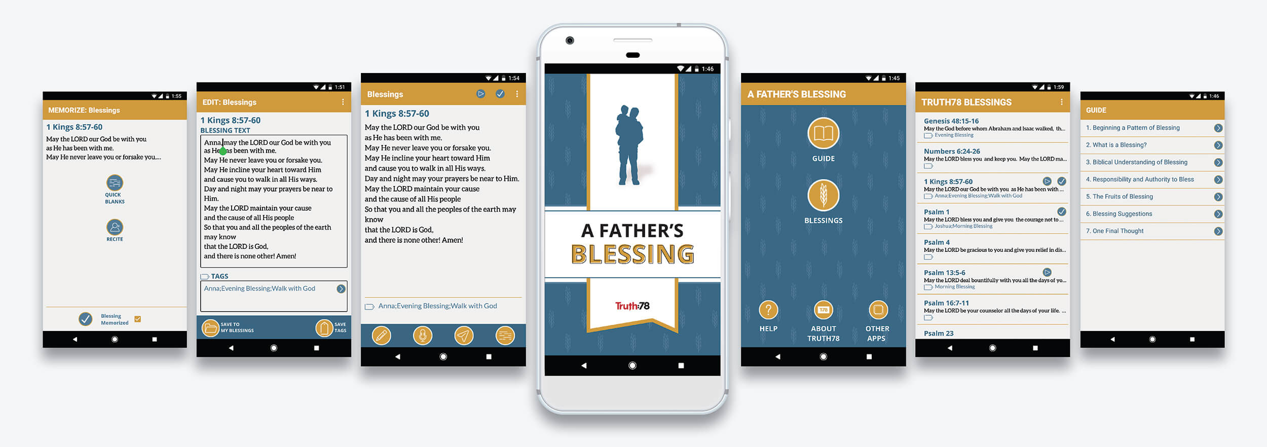 A Father's Blessing App
