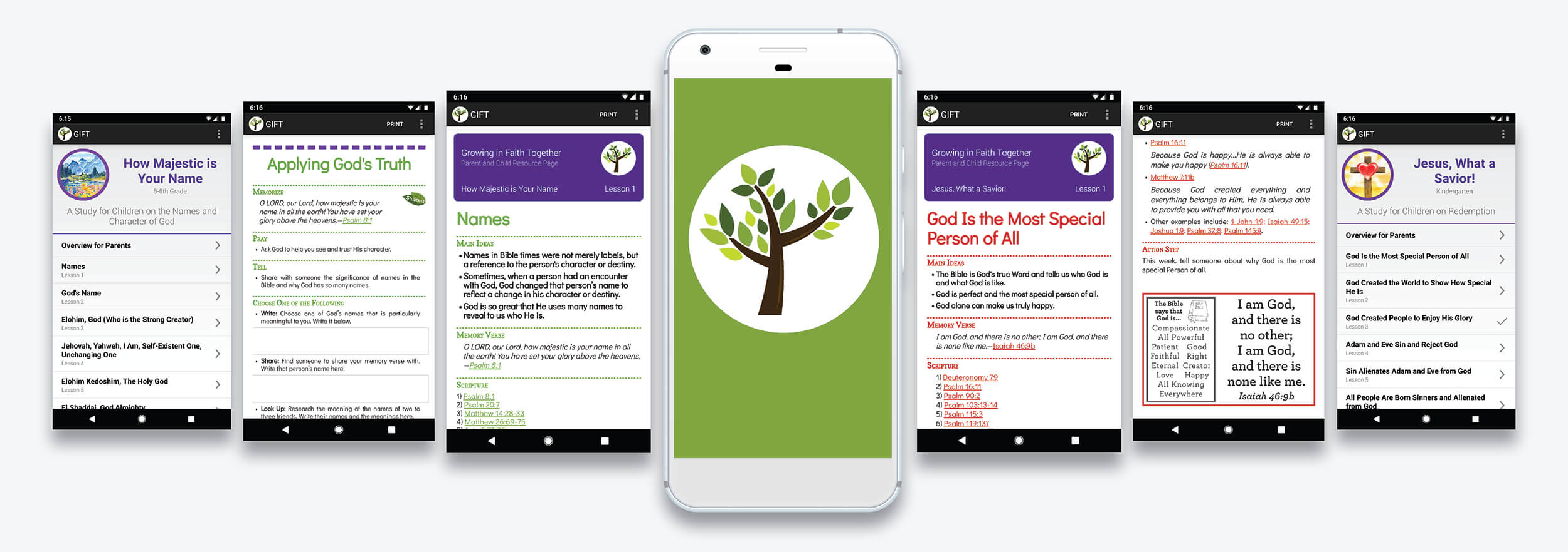 Growing in Faith Together App