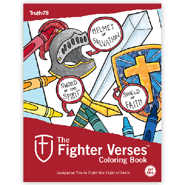 The Fighter Verses Study: Set 1 - Coloring Book