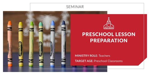 Preschool Lesson Preparation