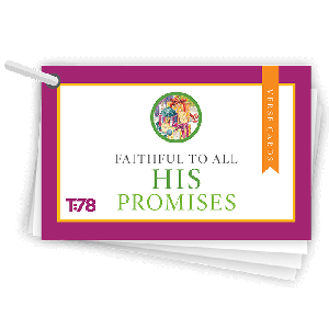 Faithful to All His Promises: Verse Cards