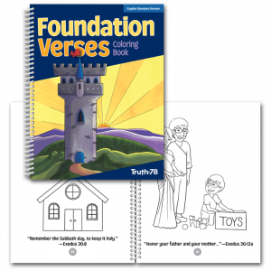Foundation Verses: Coloring Book ESV