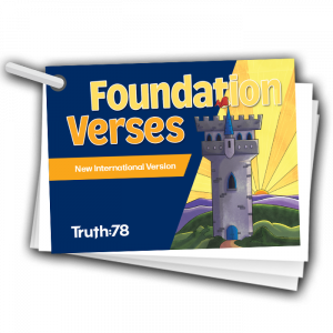 Foundation Verses Pack NIV Color