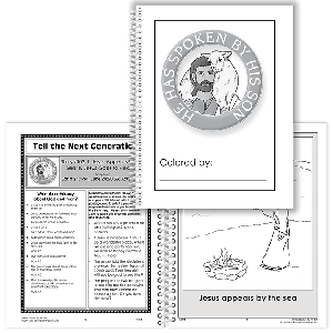 He Has Spoken By His Son: Student Coloring Book With Parent Pages