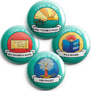 I Stand in Awe: Student Buttons (5 sets)