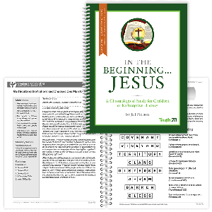 In the Beginning...Jesus: Growing in Faith Together Booklet (Parent Pages)