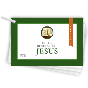 In the Beginning...Jesus: Verse Cards
