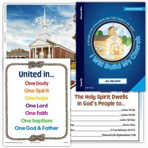 I Will Build My Church: Visuals Packet
