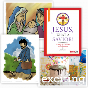 Jesus, What a Savior!: Visuals Packet