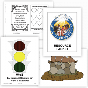 Lord, Teach Us to Pray: Color Resource Packet