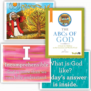 The ABCs of God: Visuals Packet