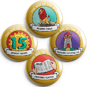 The Way of the Wise: Student Buttons (5 sets)