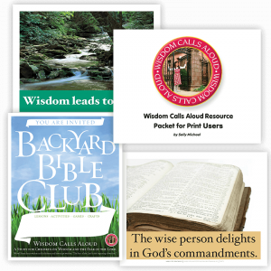 Wisdom Calls Aloud: Color Resource Packet