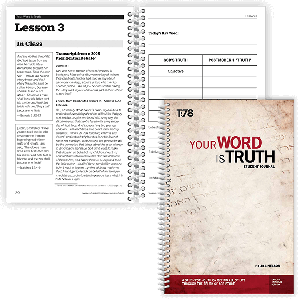Your Word is Truth: Student Journal