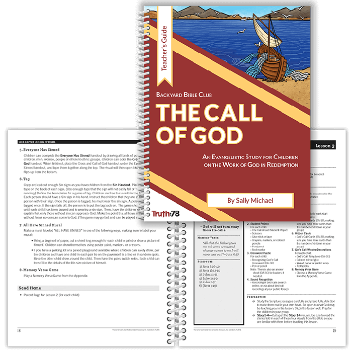 The Call of God - Truth78 Vacation Bible School Curriculum - Truth78