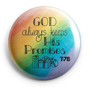 Faithful to All His Promises: Promise Buttons (8-Pack)