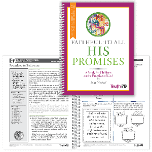 Faithful to All His Promises: Growing in Faith Together Booklet (Parent Pages)