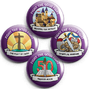 Fight the Good Fight: Student Buttons (5 sets)
