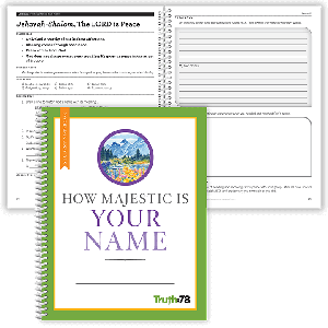 How Majestic is Your Name: Student Notebook