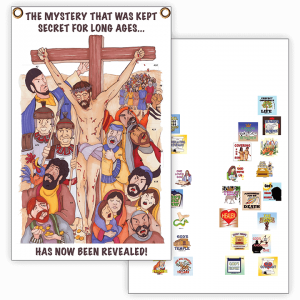 In the Beginning...Jesus: Mini Poster Set