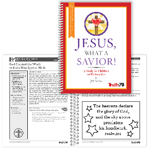 Jesus, What a Savior!: Growing in Faith Together Booklet
