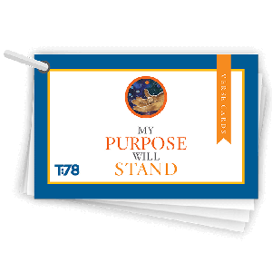 My Purpose Will Stand: Verse Cards