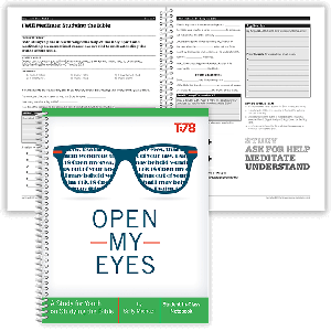 Open My Eyes: Student In-Class Notebook