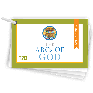 The ABCs of God: Verse Cards