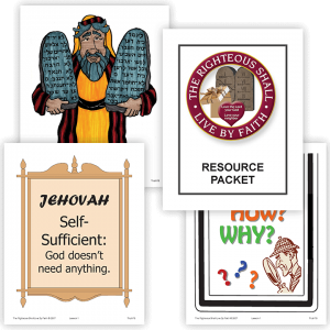 The Righteous Shall Live by Faith: Color Resource Packet