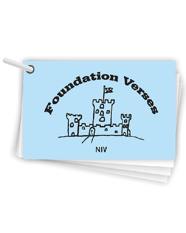 Foundation Verses Pack NIV
