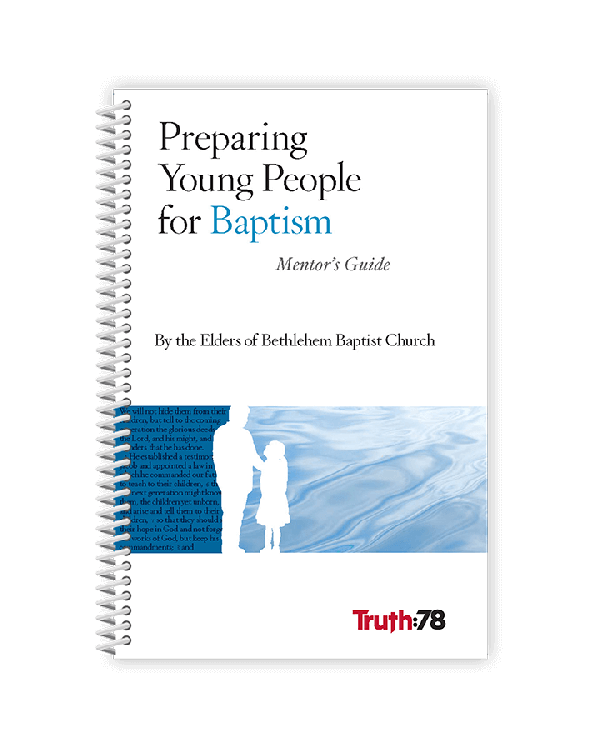Preparing Young People for Baptism