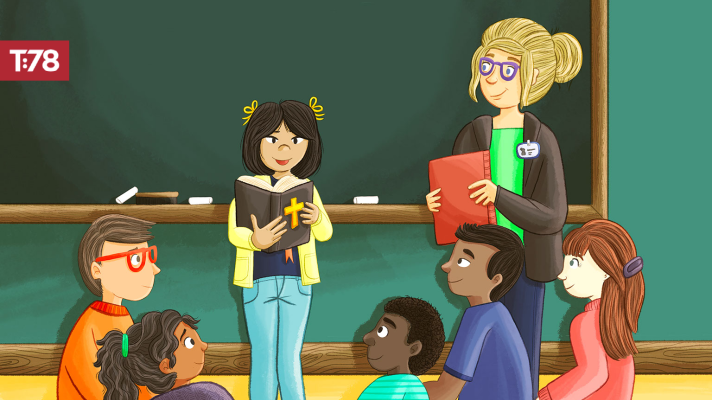 Keeping the Bible Front and Center in Your Classroom
