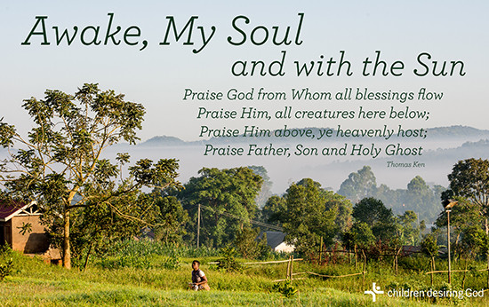 Children Desiring God Blog // Awake My Soul Hymn