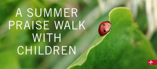 Children Desiring God Blog // A Summer Praise Walk With Children