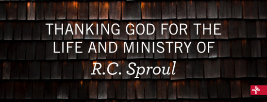 Children Desiring God Blog // Thanking God for the Life and Ministry of RC Sproul