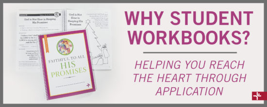 Children Desiring God Blog // Why Student Workbooks