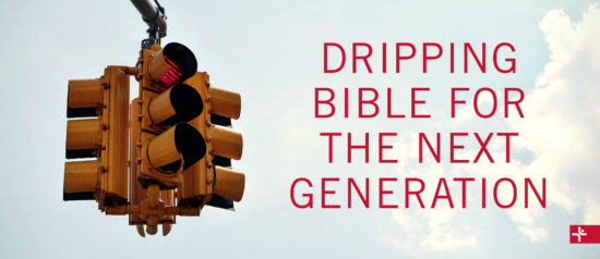 Children Desiring God Blog // Dripping Bible for the Next Generation