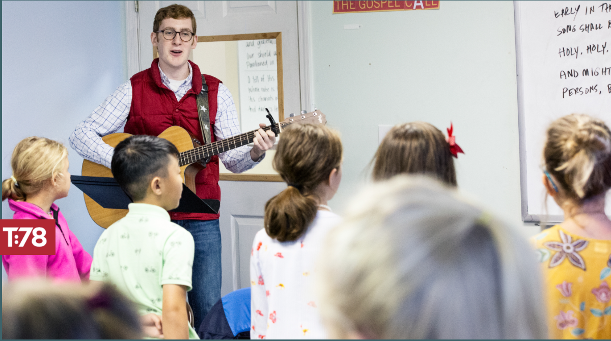 Why Sing in your Sunday School Classroom?