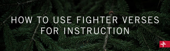 How to Use Fighter Verses for Instruction