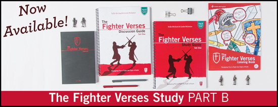 Children Desiring God Blog // The Fighter Verses Study Part B Now Available