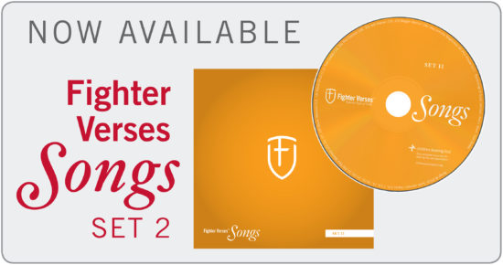 Now Available: Fighter Verses Songs, Set 2