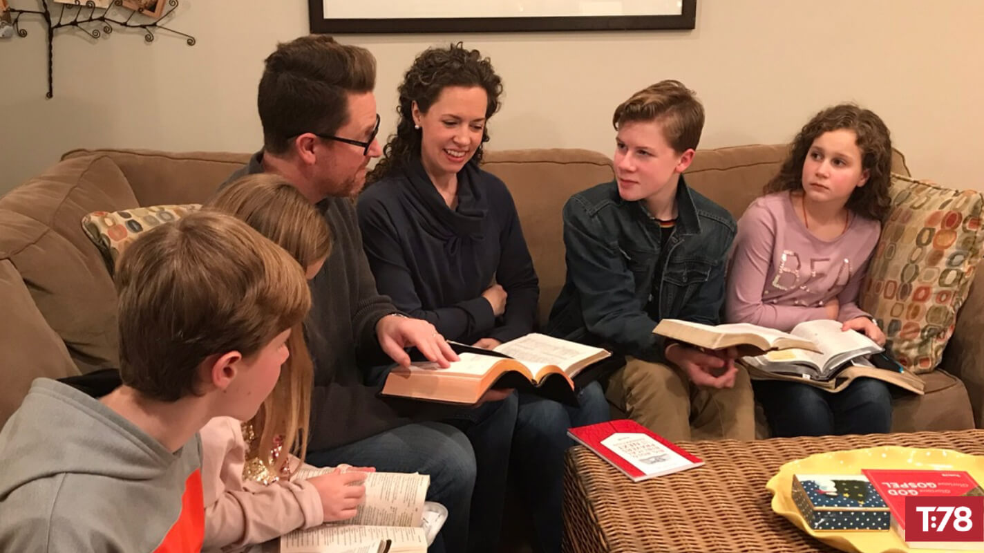 Leading family devotions
