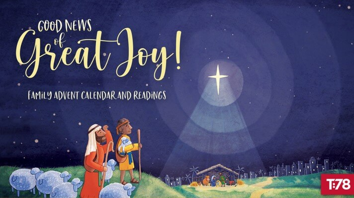 This Advent celebrate the wonder of God sending His Son