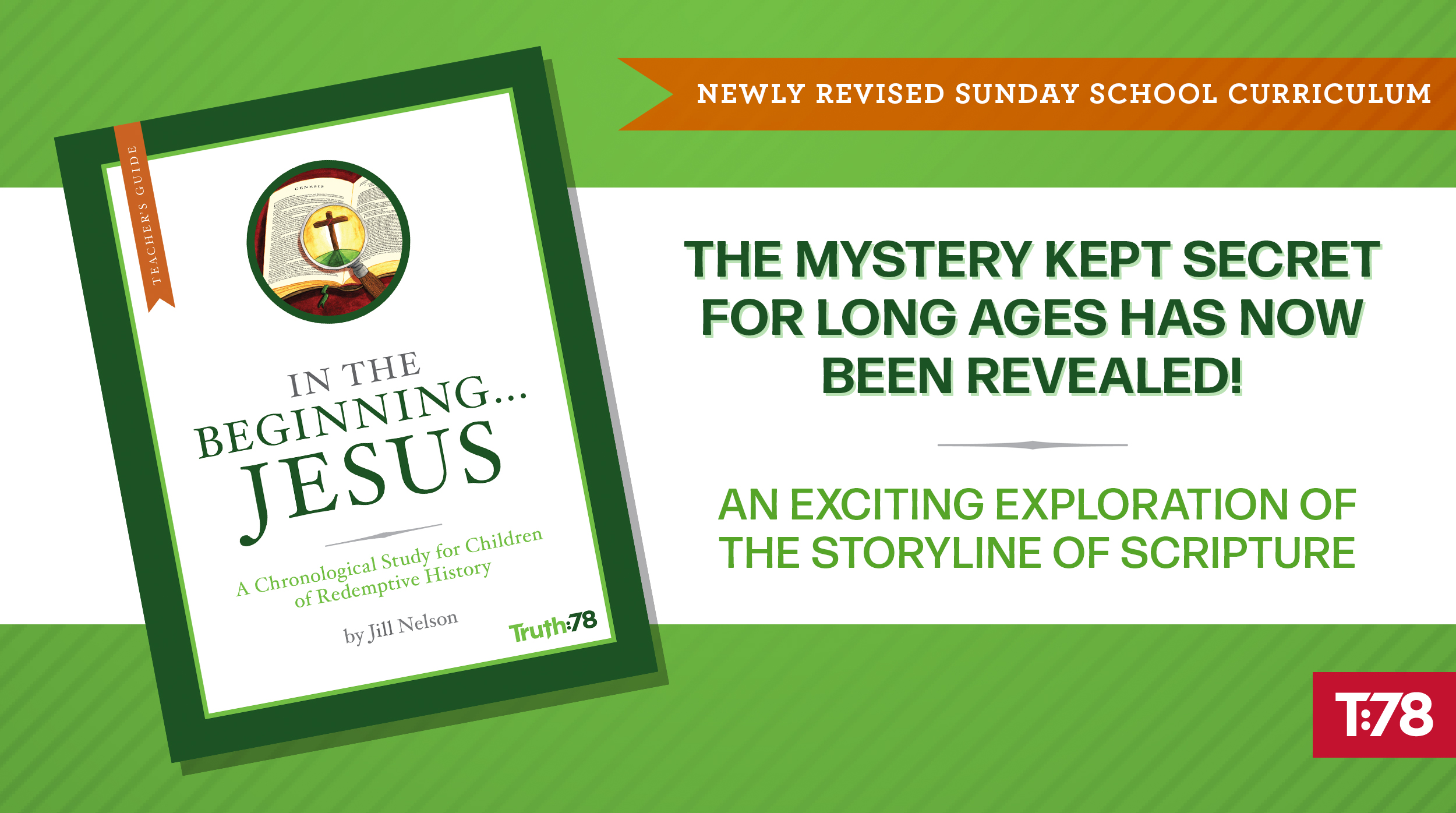 Revised In the Beginning...Jesus Curriculum Now Available