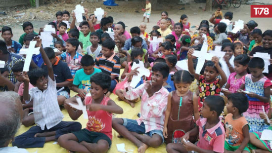 Partnership takes Things Hidden and the Gospel to over 100,000 children in India