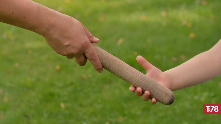 Passing the Baton in a Difficult World