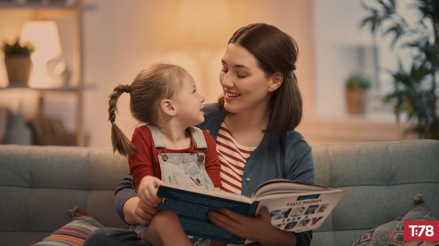 Reading More Than a Story With Children