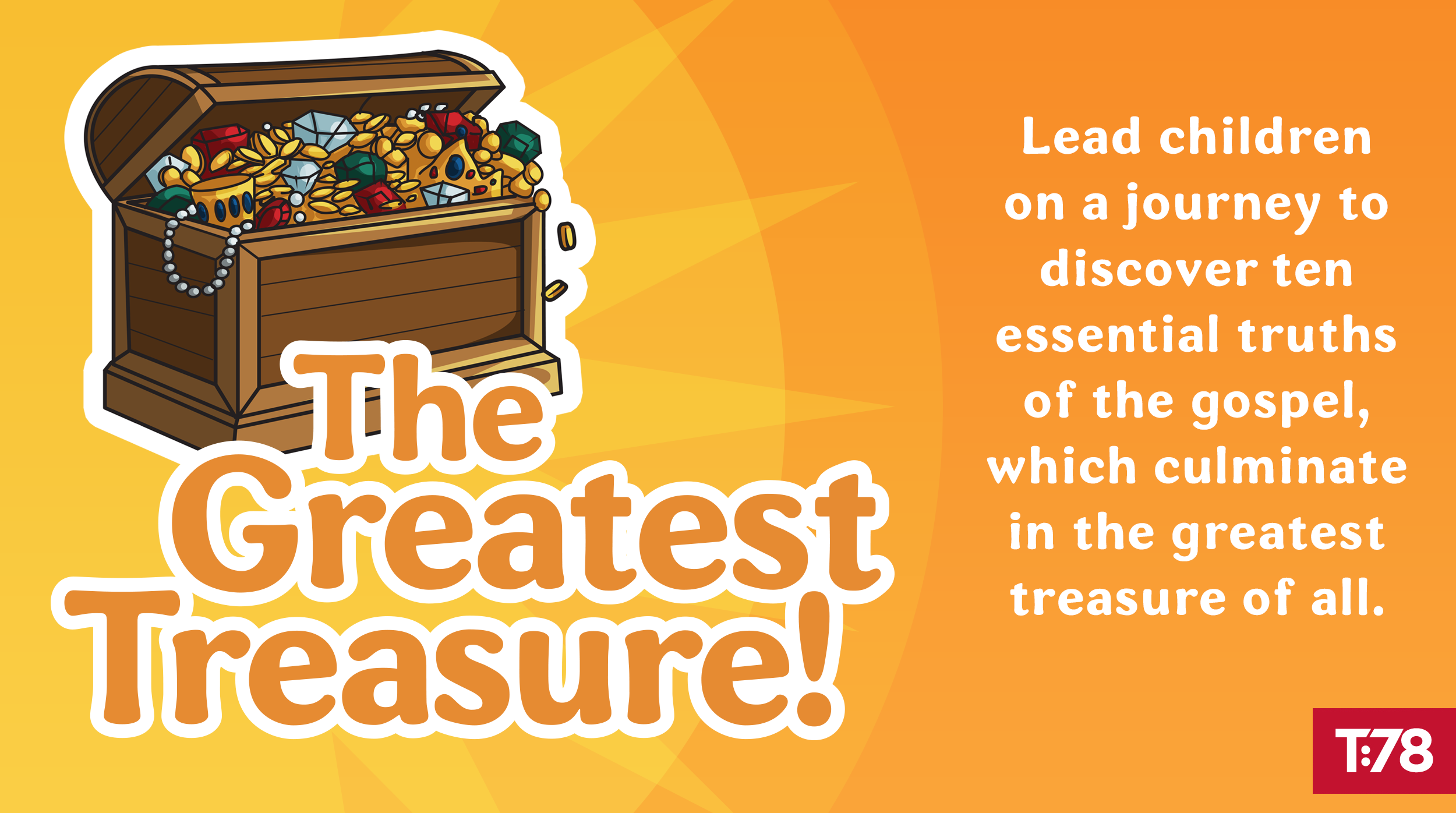 The Greatest Treasure--a new gospel outreach tool