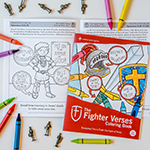 The Fighter Verses Coloring Book