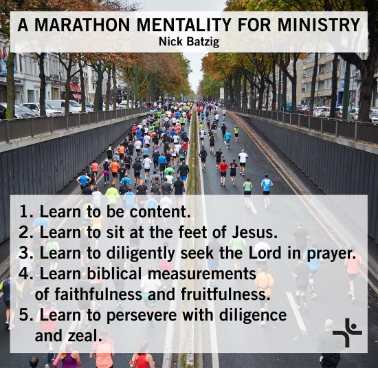 A Marathon Mentality for Ministry